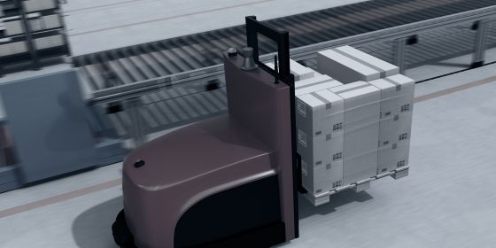 Automated Guided Vehicles (AGV) voor intern transport